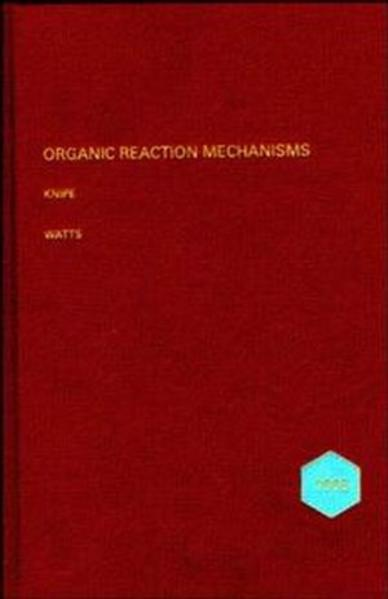 Organic Reaction Mechanisms 1995 - Coverbild
