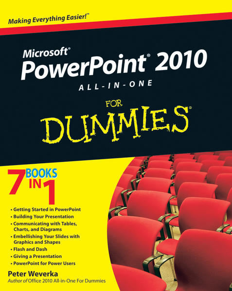 PowerPoint 2010 All-in-One For Dummies - Coverbild