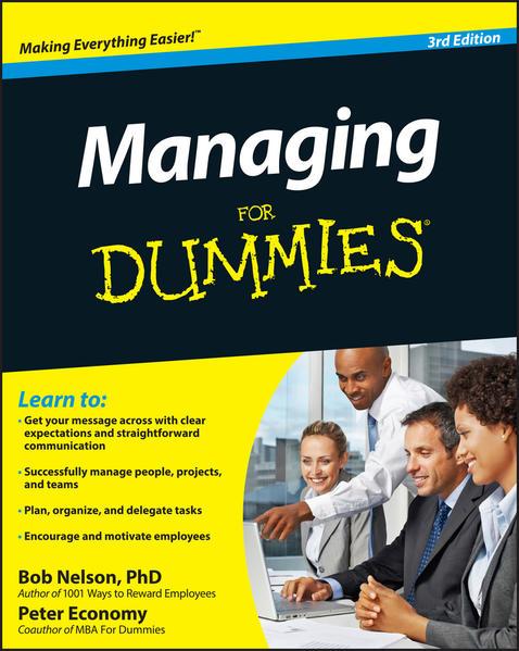 Managing For Dummies - Coverbild