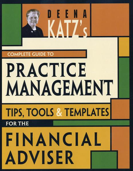 Deena Katz's Complete Guide to Practice Management - Coverbild
