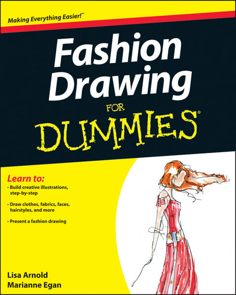Fashion Drawing For Dummies - Coverbild