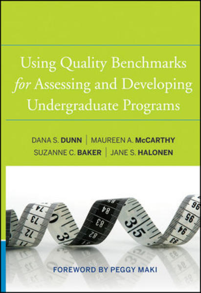 Using Quality Benchmarks for Assessing and Developing Undergraduate Programs - Coverbild