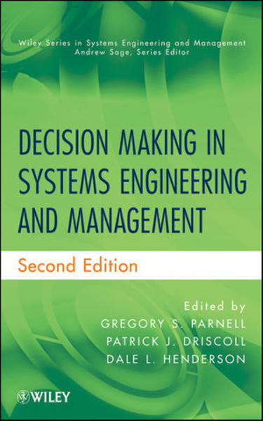 Decision Making in Systems Engineering and Management - Coverbild