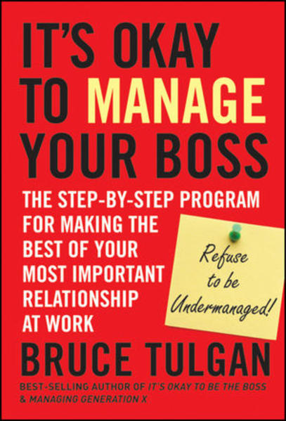 It s Okay to Manage Your Boss - Coverbild