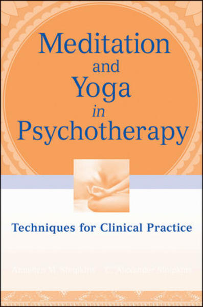 Meditation and Yoga in Psychotherapy - Coverbild