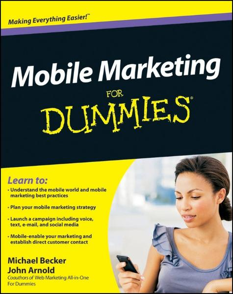 Mobile Marketing For Dummies - Coverbild