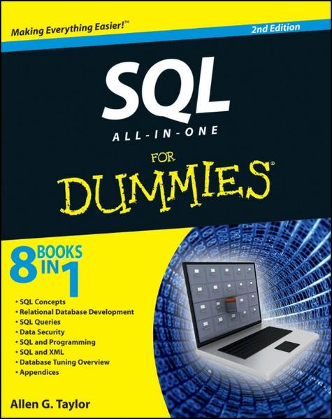 SQL All-in-One For Dummies - Coverbild