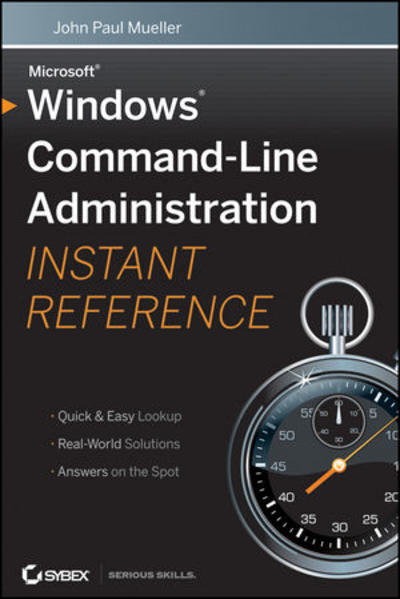Windows Command Line Administration Instant Reference - Coverbild