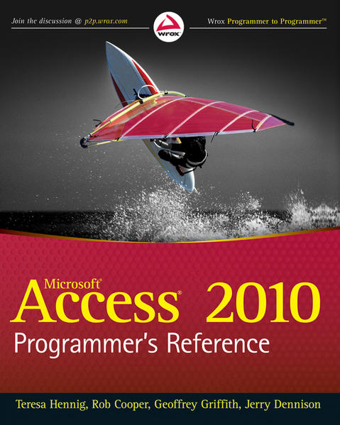 Access 2010 Programmer's Reference - Coverbild