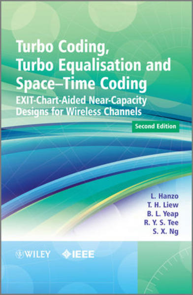 Turbo Coding, Turbo Equalisation and Space-Time Coding - Coverbild