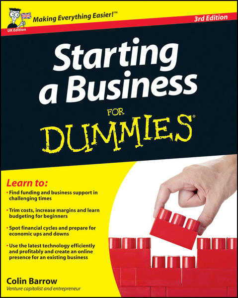 Starting a Business For Dummies, 3rd UK Edition - Coverbild