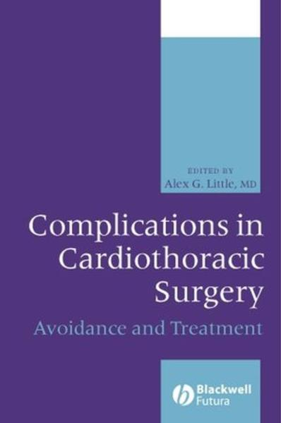 Complications in Cardiothoracic Surgery - Coverbild