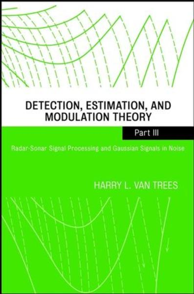 Detection, Estimation, and Modulation Theory - Coverbild
