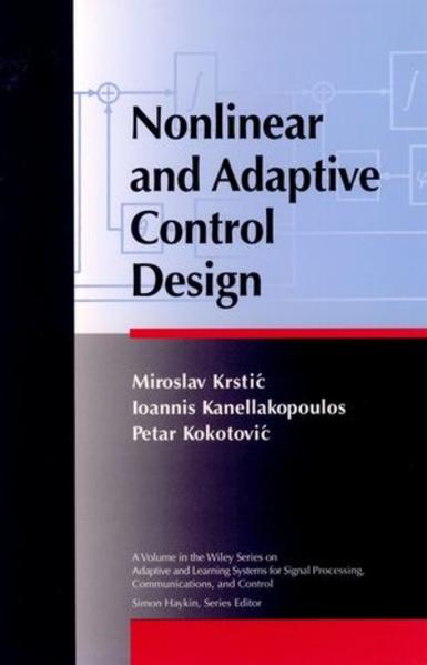 Nonlinear and Adaptive Control Design - Coverbild
