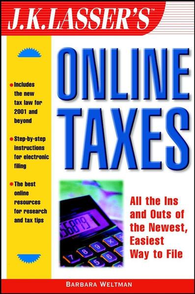 J.K. Lasser's Online Taxes - Coverbild