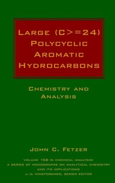 Large (C>=24) Polycyclic Aromatic Hydrocarbons - Coverbild