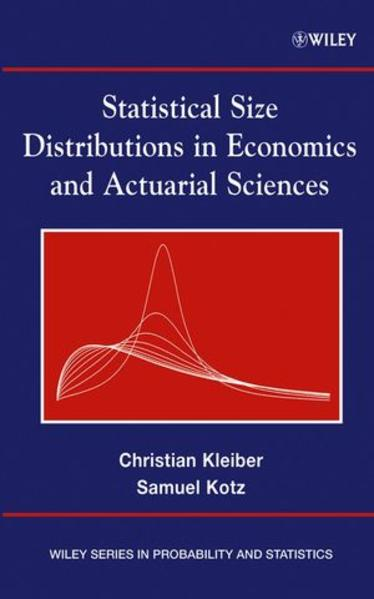 Statistical Size Distributions in Economics and Actuarial Sciences - Coverbild