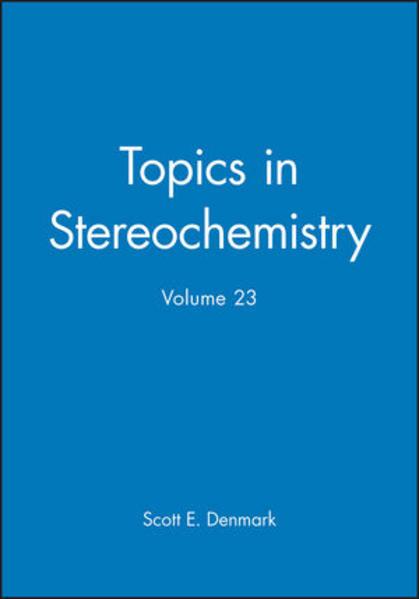 Topics in Stereochemistry, Volume 23 - Coverbild