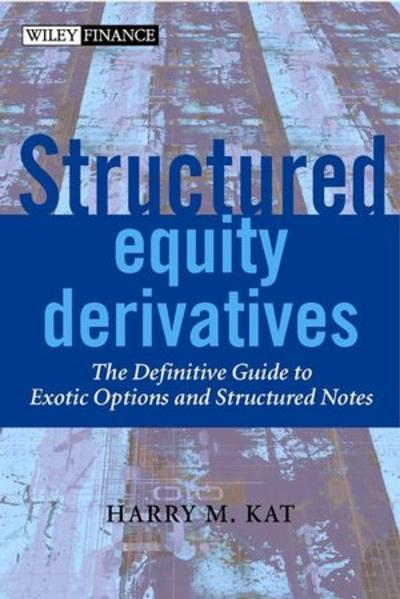 Structured Equity Derivatives - Coverbild
