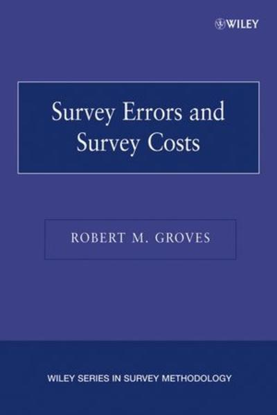 Survey Errors and Survey Costs - Coverbild