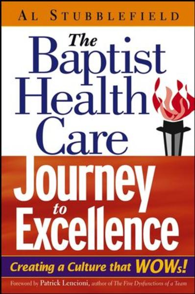 The Baptist Health Care Journey to Excellence - Coverbild