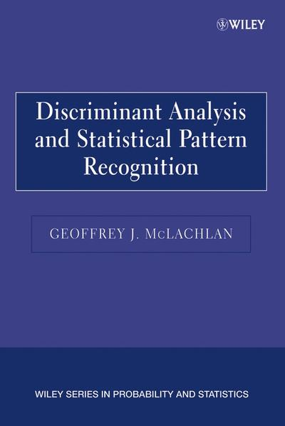 Discriminant Analysis and Statistical Pattern Recognition - Coverbild