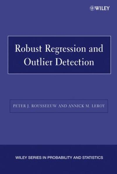 Robust Regression and Outlier Detection - Coverbild