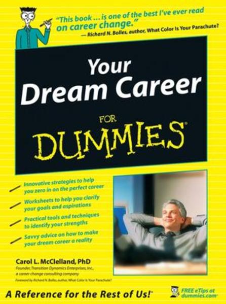 Your Dream Career For Dummies - Coverbild