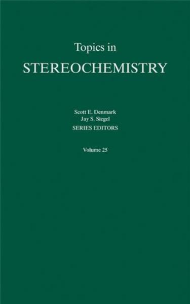 Topics in Stereochemistry, Volume 25 - Coverbild