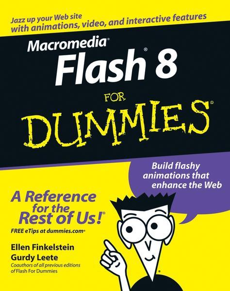 Macromedia Flash 8 For Dummies - Coverbild