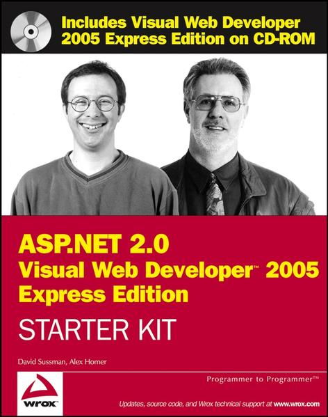Wrox's ASP.NET 2.0 Visual Web Developer 2005 Express Edition Starter Kit - Coverbild