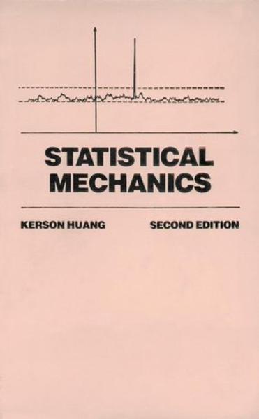 Statistical Mechanics - Coverbild