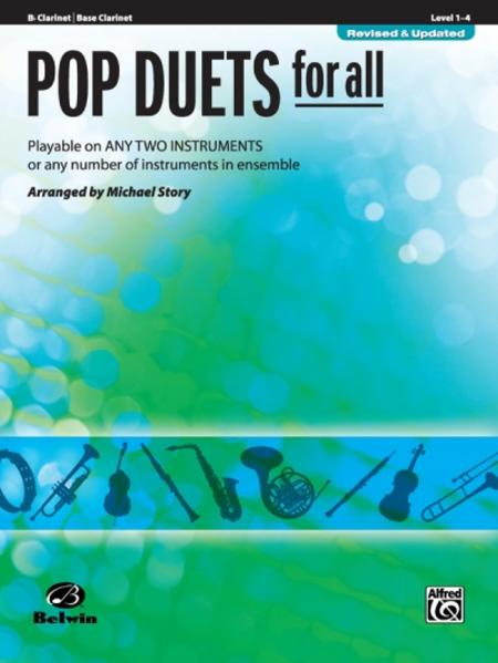 Epub Download Pop Duets for All - Bb Clarinet / Bass Clarinet