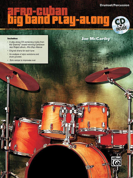 Afro-Cuban Big Band Play-Along for Drumset/Percussion - Coverbild