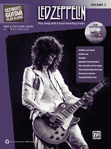 Ultimate Guitar Play-Along: Led Zeppelin, Volume 2 - Coverbild