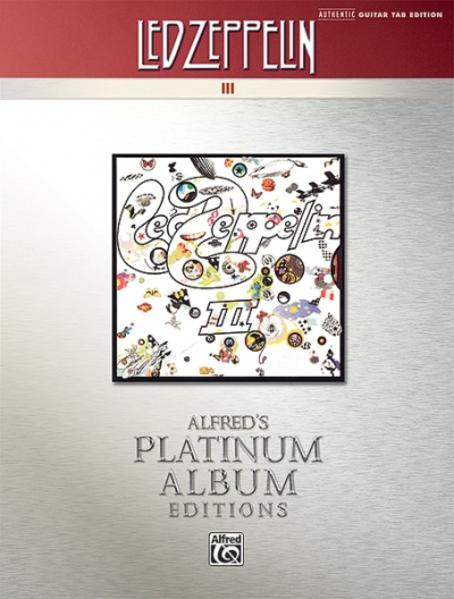 Led Zeppelin: III Platinum Guitar - Coverbild