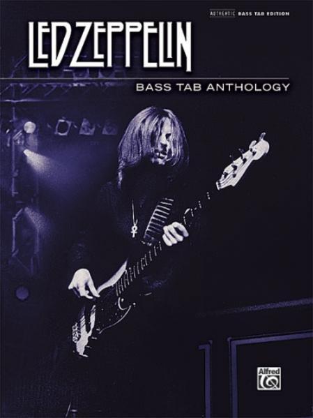 Led Zeppelin: Bass TAB Anthology - Coverbild