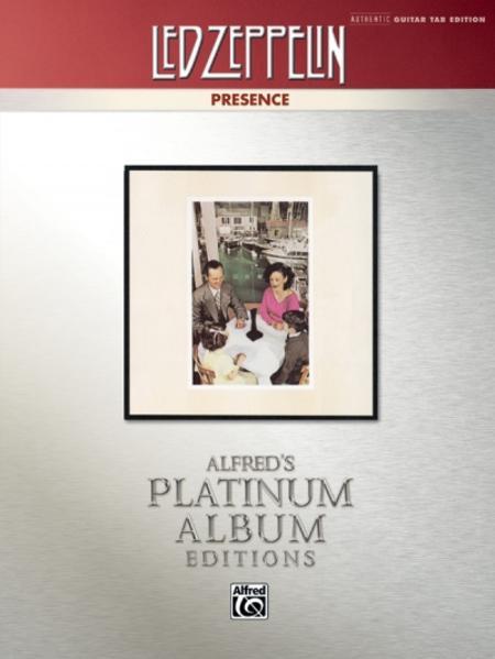 Led Zeppelin: Presence Platinum Guitar - Coverbild