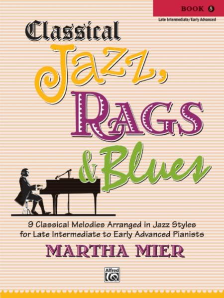 Classical Jazz, Rags & Blues, Book 5 - Coverbild