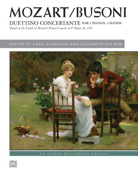 Mozart/Busoni: Duettino concertante - Coverbild