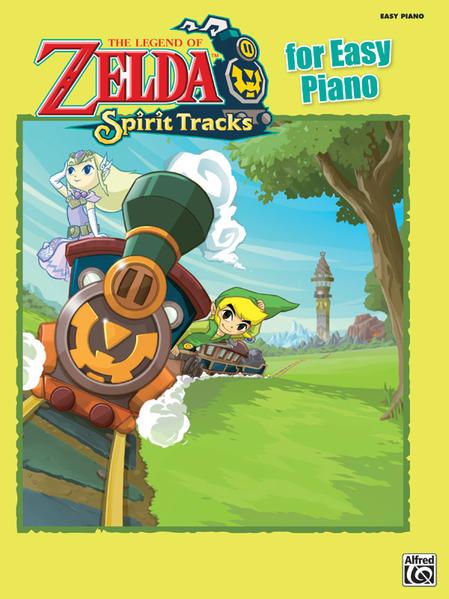 The Legend of Zelda™: Spirit Tracks for Easy Piano - Coverbild