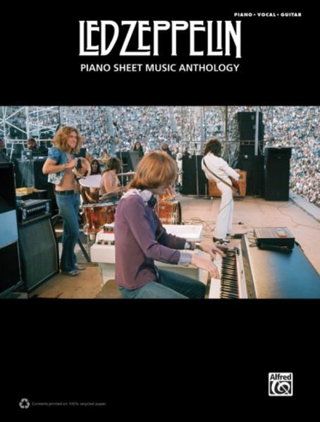 Led Zeppelin: Piano Sheet Music Anthology - Coverbild