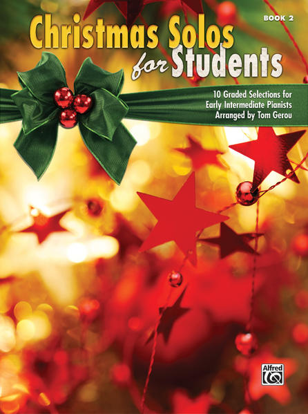 Christmas Solos for Students, Book 2 - Coverbild