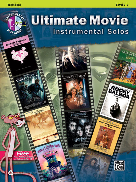 Ultimate Movie Instrumental Solos for Trombone - Coverbild