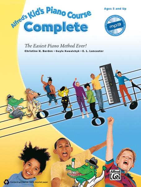 Alfred's Kid's Piano Course Complete - Coverbild