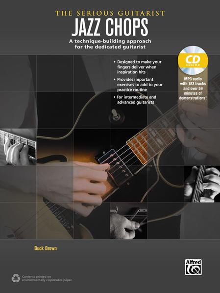 The Serious Guitarist: Jazz Chops - Coverbild