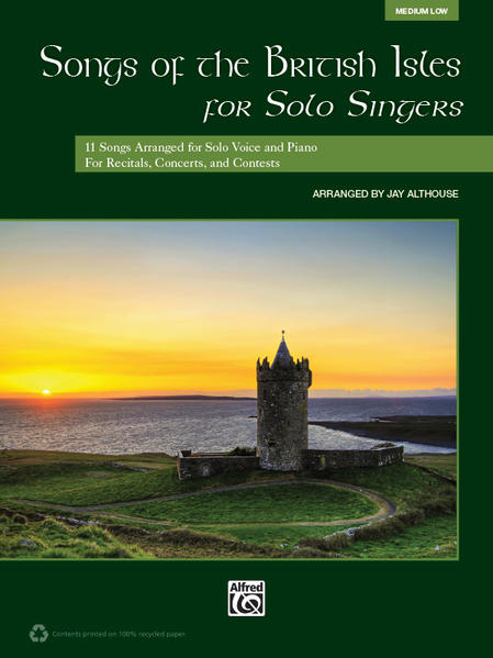 Songs of the British Isles for Solo Singers - Coverbild