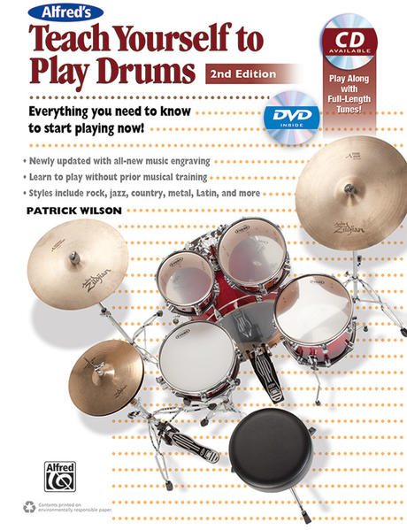 Alfred's Teach Yourself to Play Drums (2nd Edition) - Coverbild
