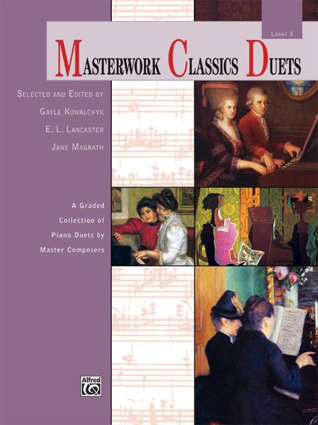 Masterwork Classics Duets, Level 5 - Coverbild