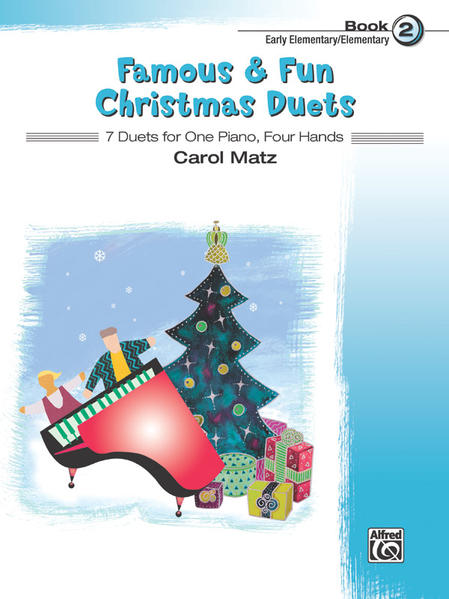 Famous & Fun Christmas Duets, Book 2 - Coverbild